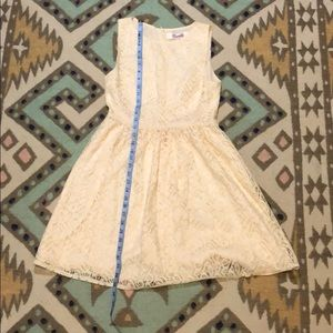 Off white or cream lace dress